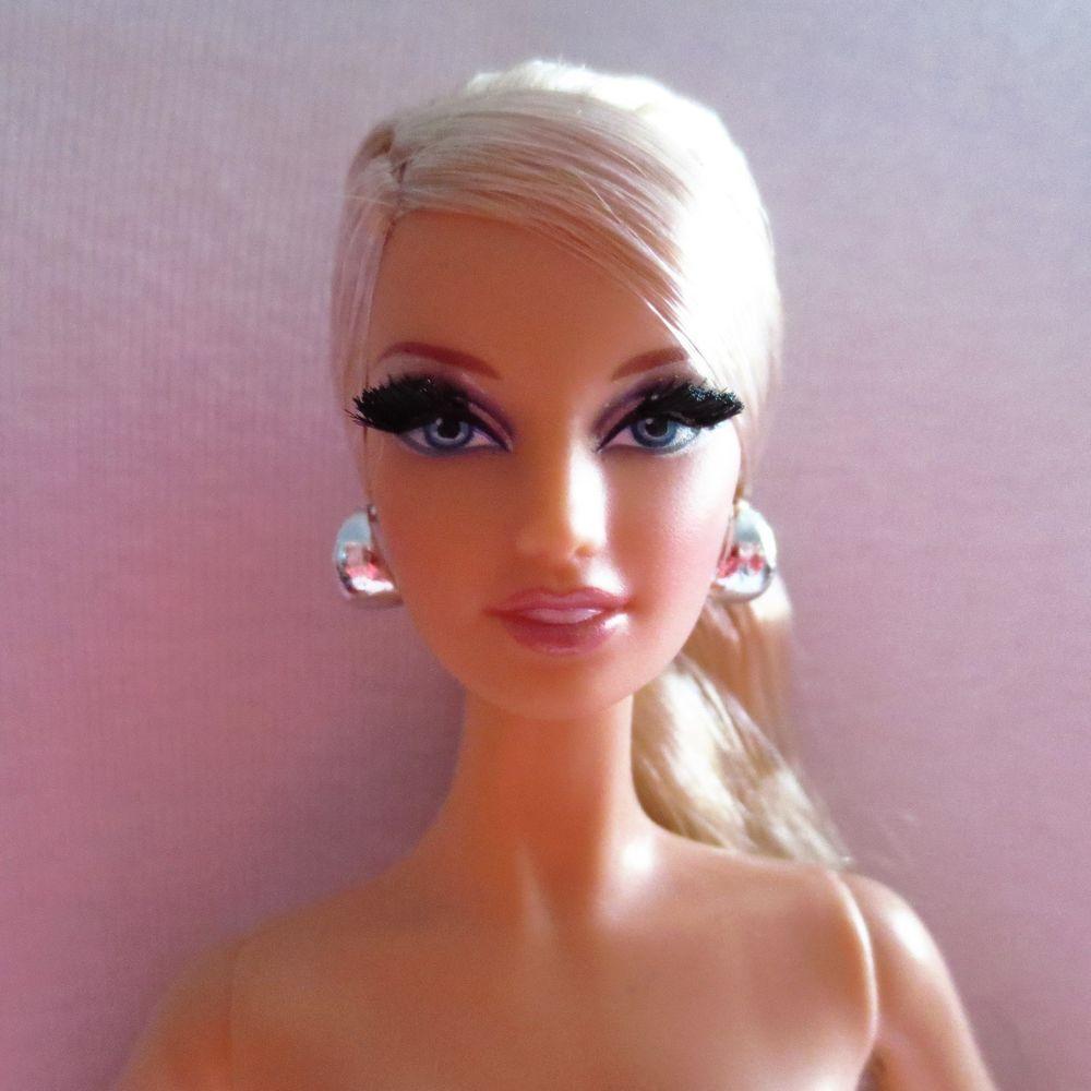 NUDE BARBIE MATTEL Aa The Look City Shopper Model Muse