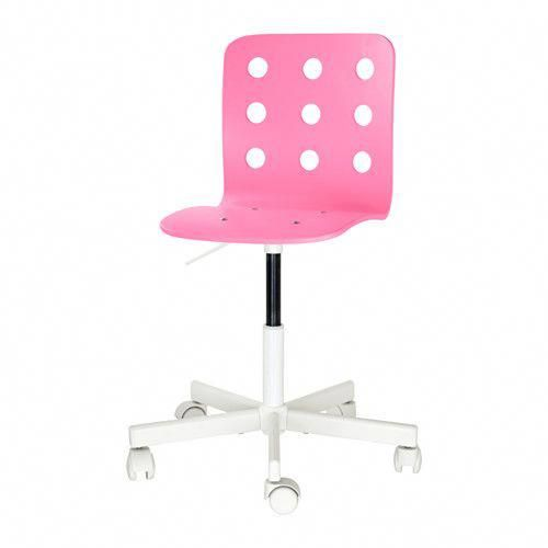 JULES Child\u0027s desk chair - pink/white - IKEA #girlsdeskchair
