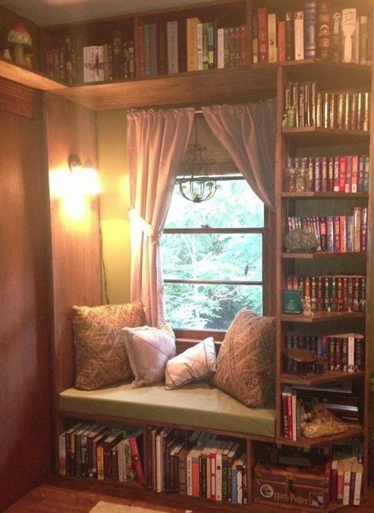14 photos of cozy reading nooks we want to hunker down in this winter white bedroom