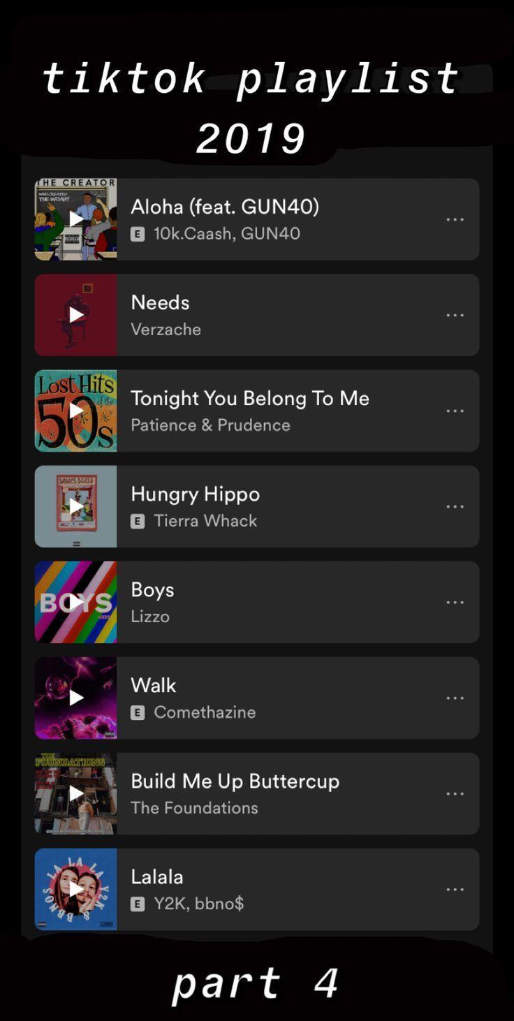 Best Tiktok Songs Free Pattern And Tutorials Netflixmood Songs Tiktok In 2020 Song Playlist Funny Usernames Mood Songs