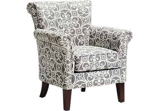 Fine Parwood Gray Accent Chair In 2019 Products Grey Accent Frankydiablos Diy Chair Ideas Frankydiabloscom