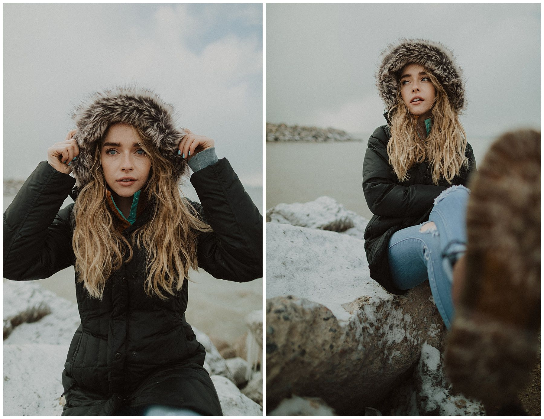 Canon 24mm F 1 4 Ii Lens Review Tressa Wixom Photography Winter Portraits 24mm Winter Photography