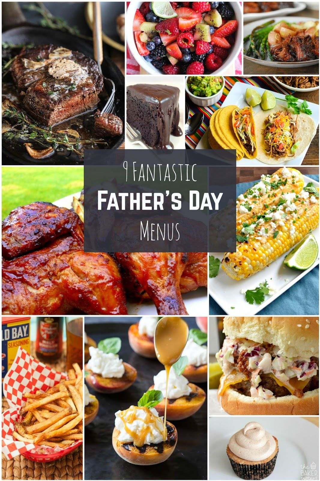 9 Fantastic Father S Day Menus Fathers Day Lunch Fathers Day Brunch Fathers Day Dinner Ideas