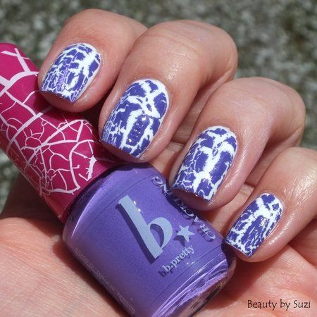 BIPA b.pretty Crackling Nail Polish, 10 Pure Lilac #nailart - bellashoot.com & bellashoot iPhone & iPad app