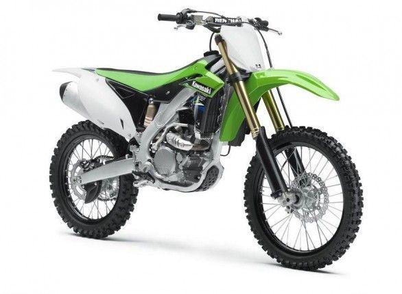 2014 Kawasaki KX250F-Front View