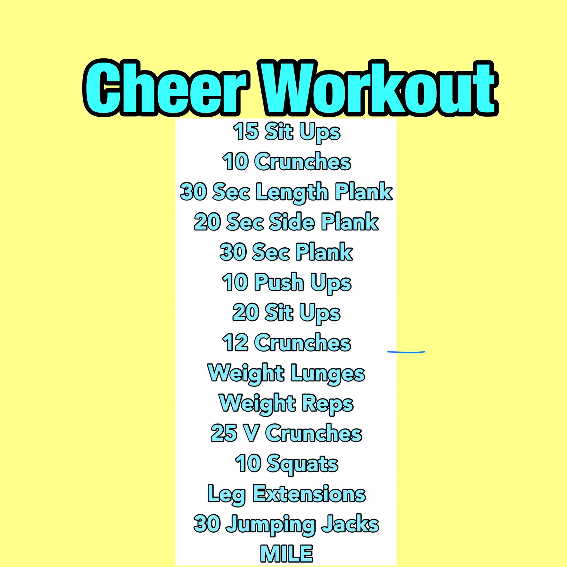 #cheerworkouts
