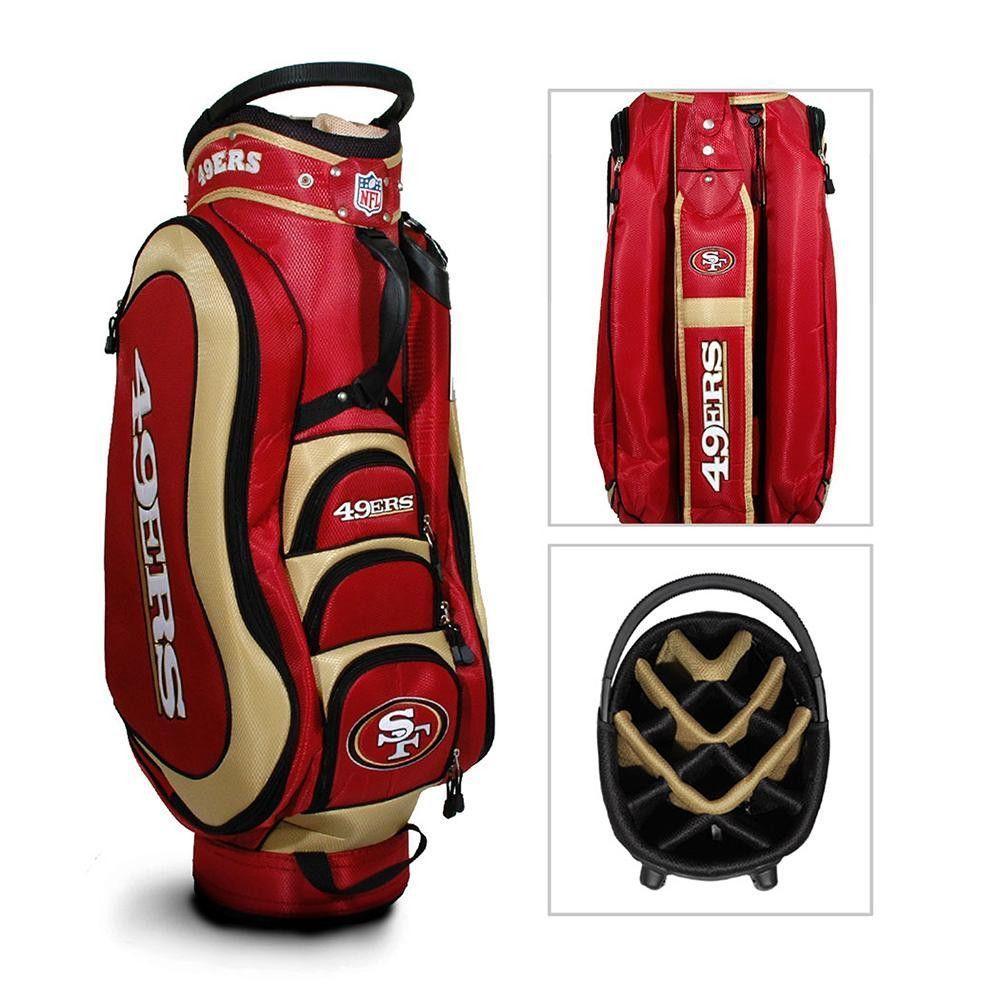 San Francisco 49ers NFL Cart Bag - 14 way Medalist  594f2af16