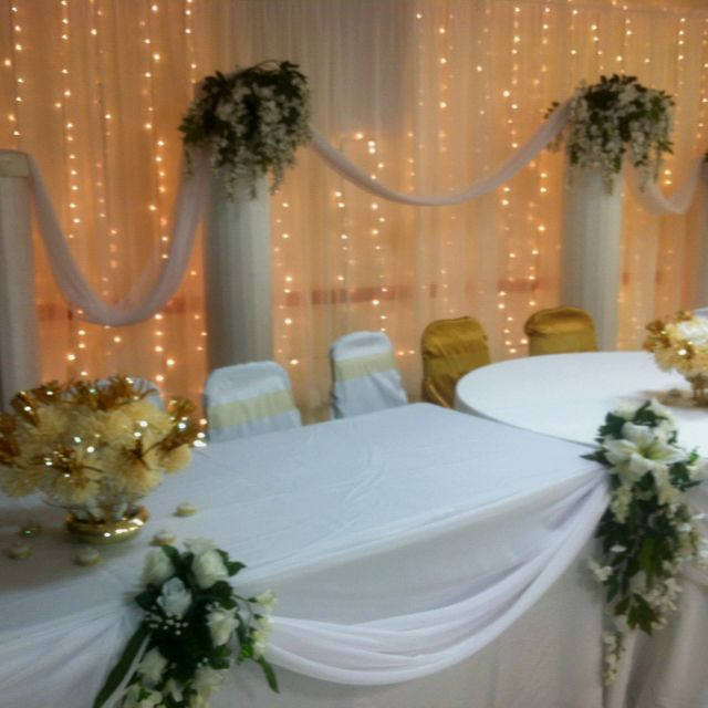 50th Wedding Anniversary Decor By Designsbydazey