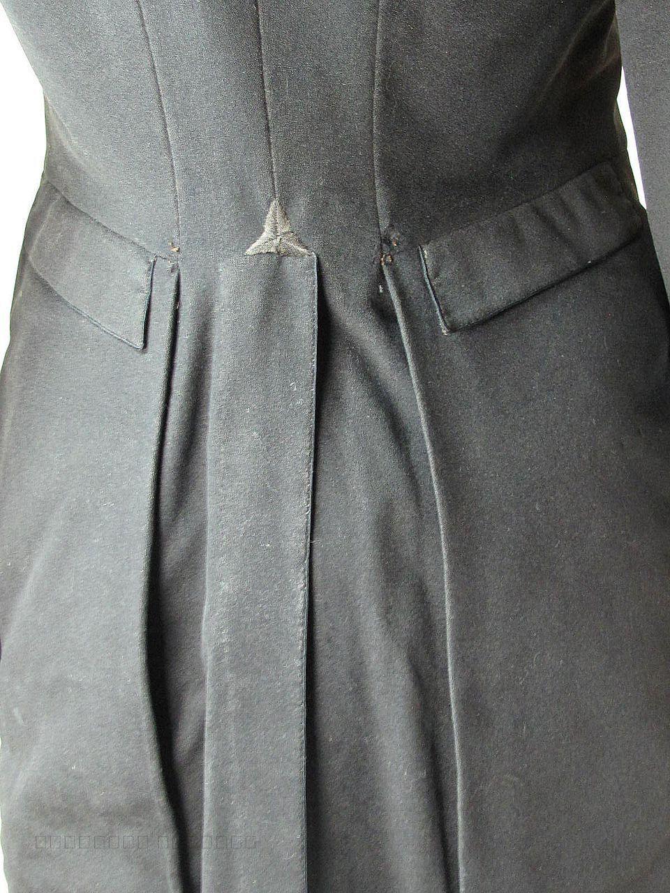 Rare Mens Circa 1810 Regency Wool Suit Fall Front
