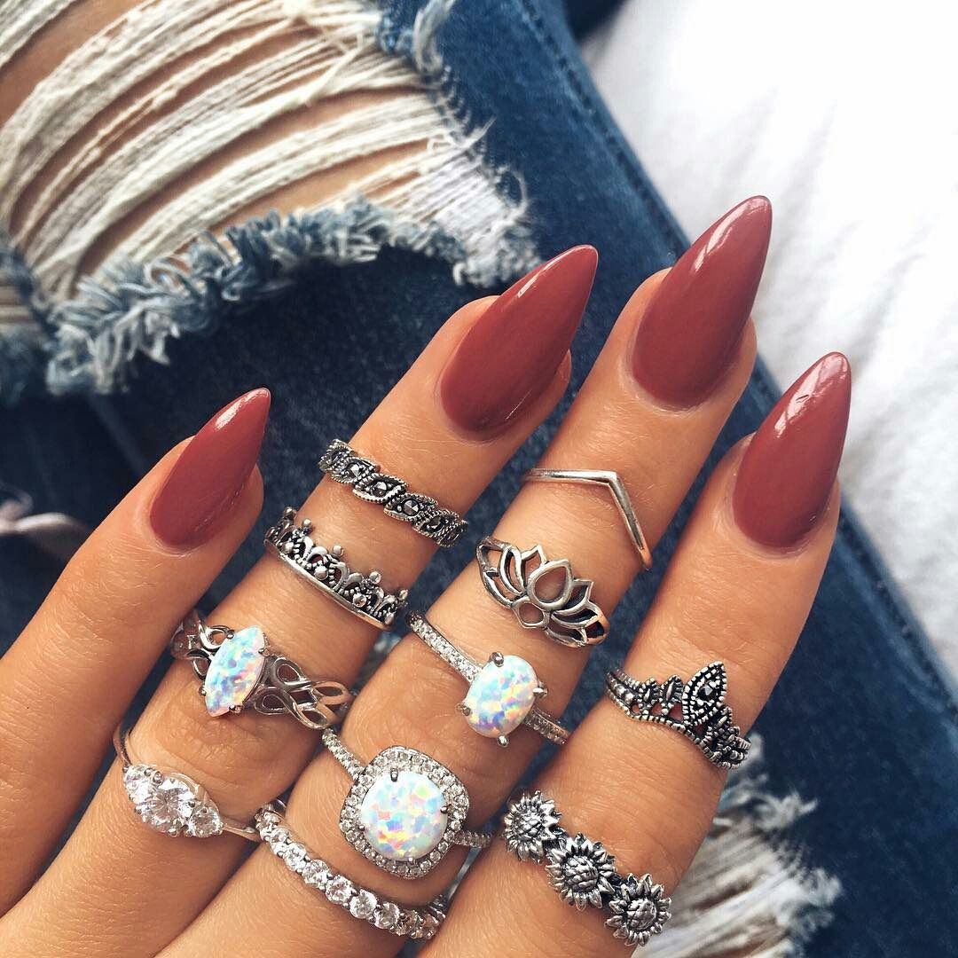 Pin By Fellicia Gilmore On School In 2020 With Images Cute Nails Cute Acrylic Nails My Nails
