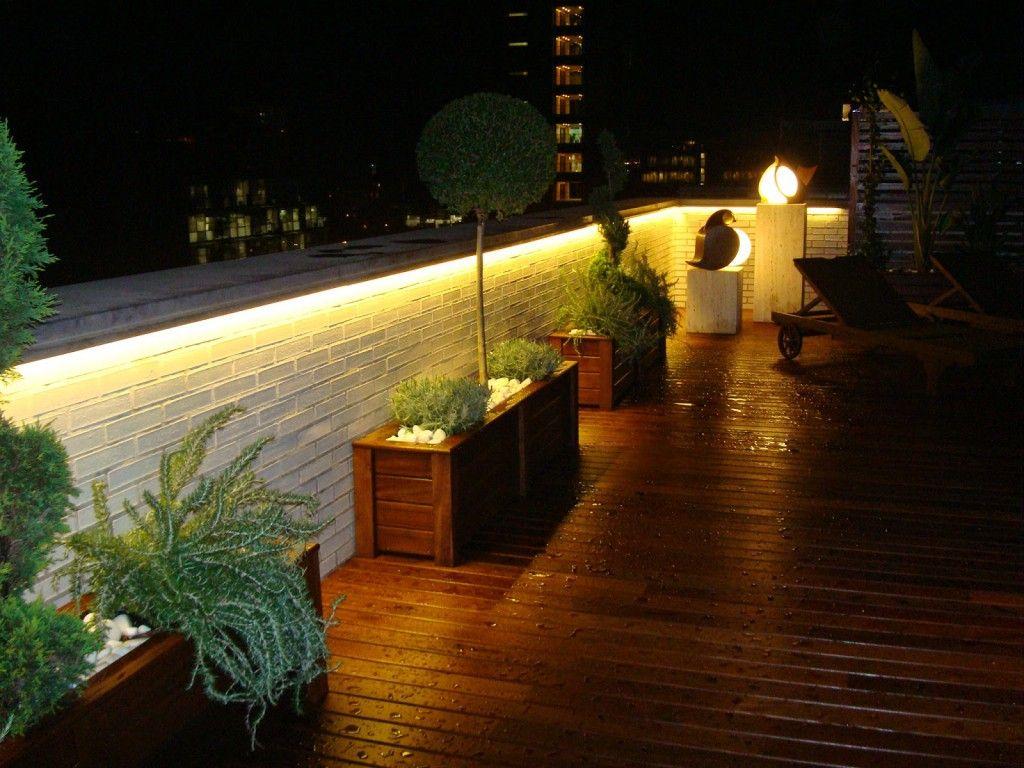 Iluminacion jardin led terraza pinterest led - Iluminacion de jardin exterior ...