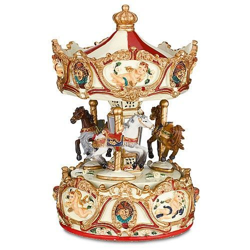Carousel Music Box Company Found On Museumselection Co