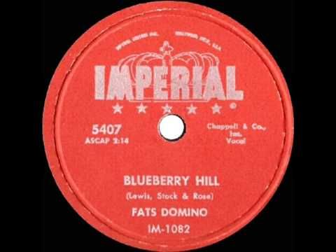 1956 Hits Archive Blueberry Hill Fats Domino 78rpm No Wow Version See Description Oldies Music 50s Music Greatest Songs