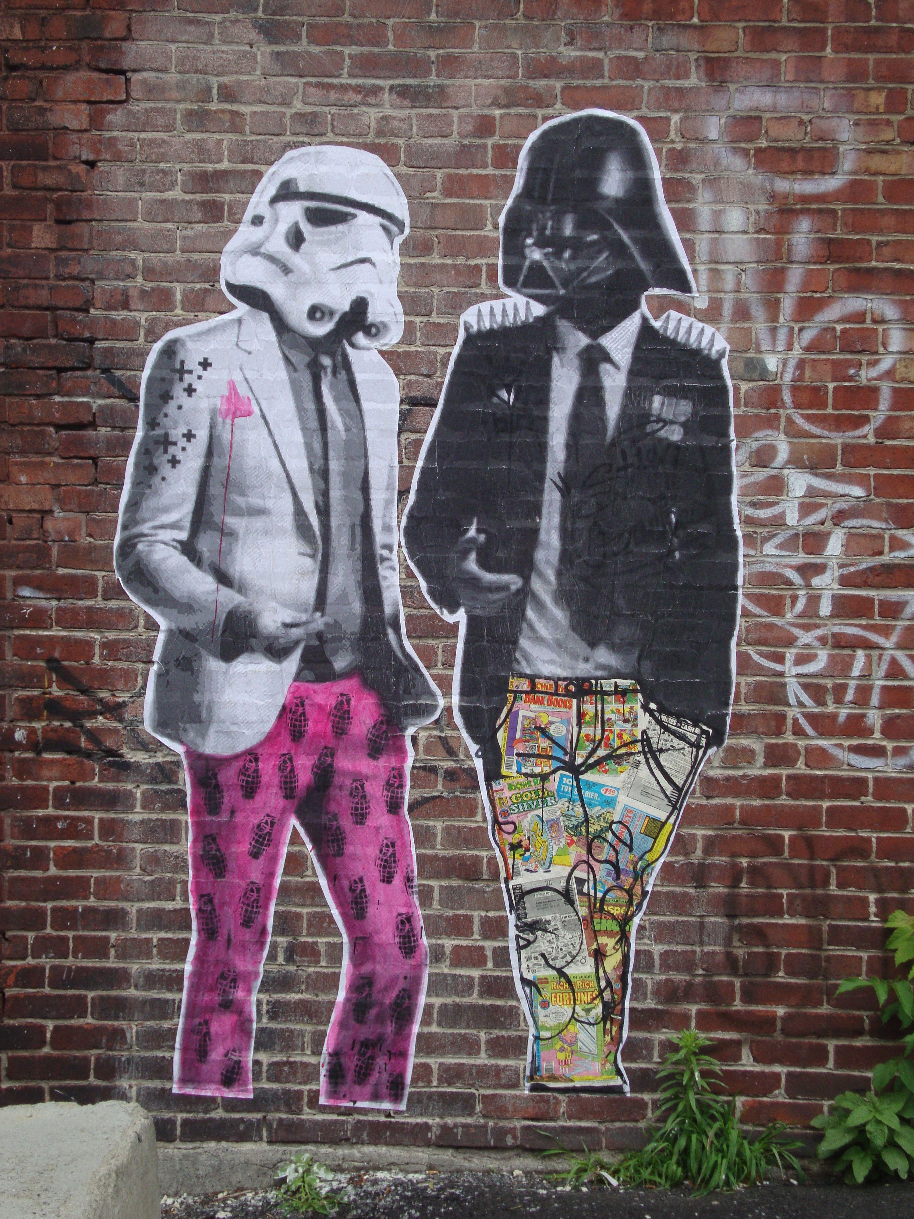 Amazing Graffiti Art  Montreal, Quebec