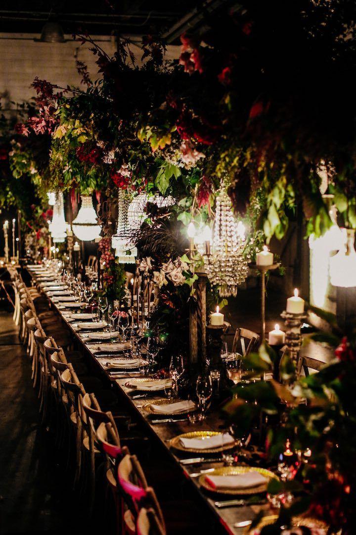 This Sydney Wedding Brings On The Drama Wedding Decor Ideas