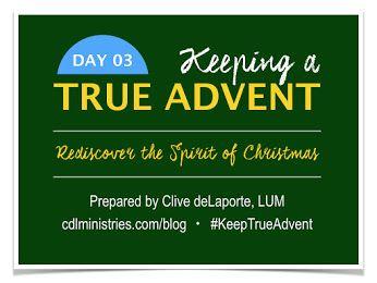 Rediscover the Spirit of Christmas. Clive deLaporte Ministries. www.cdlministries.com/blog