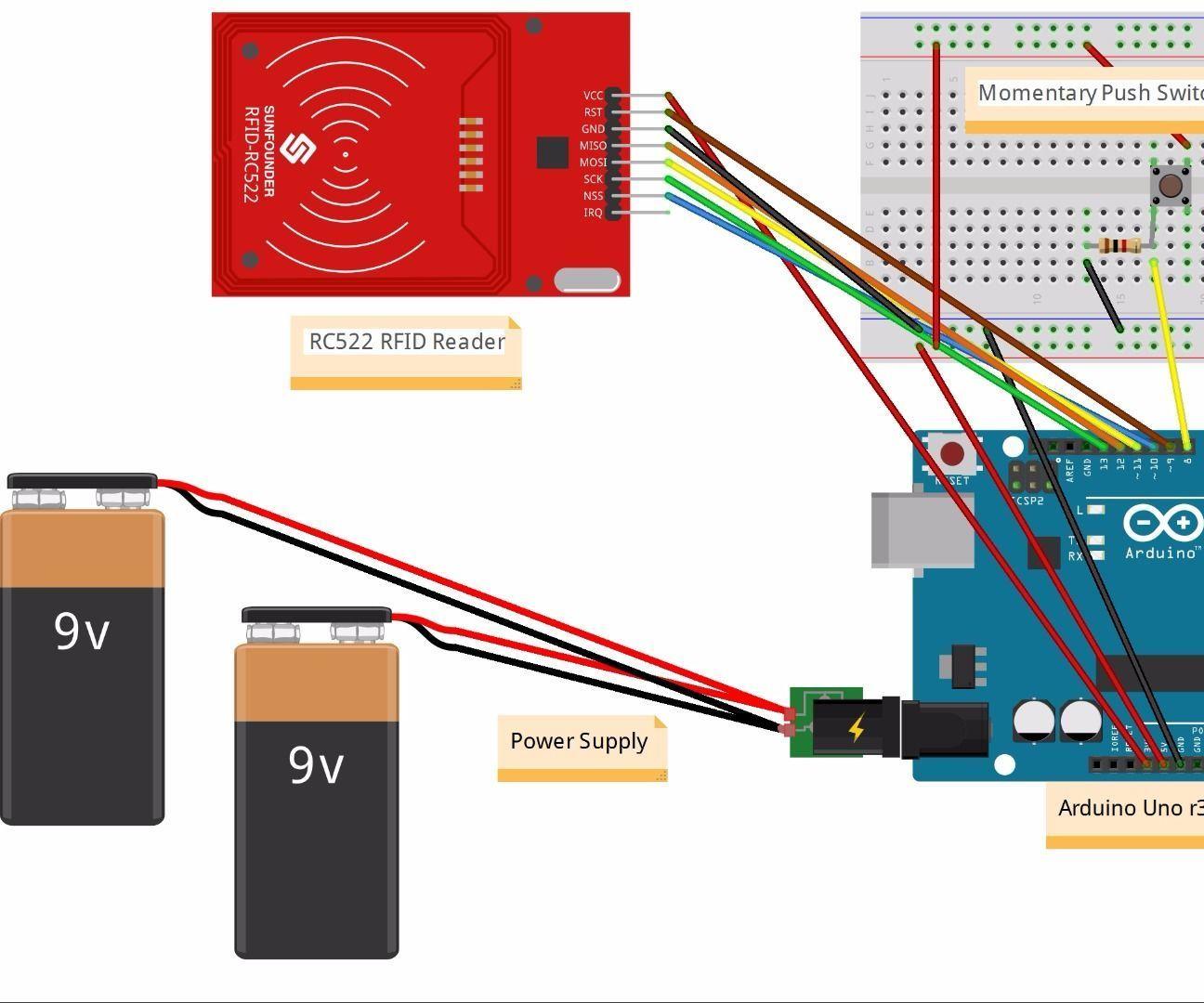 Rfid And Bluetooth Door Lock Rfid Arduino Arduino Bluetooth