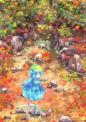 二次元 秋の風景と女の子 の画像イラスト 壁紙 Naver まとめ Pokemon Black And White Anime Images Black Pokemon