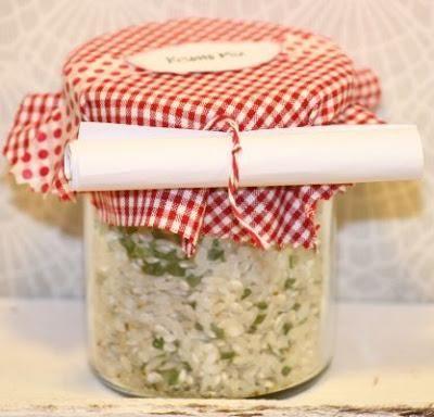 Risotto Mix Geschenke aus der küche, Selbstgemachtes und Geschenk - selbstgemachte geschenke aus der k che