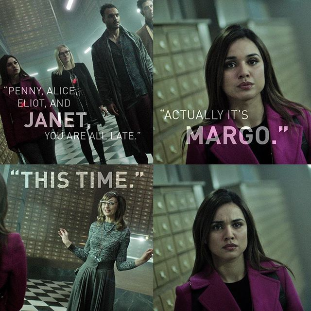 The Magicians Margo Quotes: The Magicians, Her Name In The Book Is Janet And They