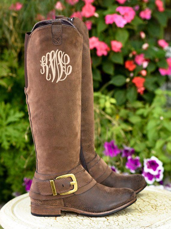 Pin By Roxanne Carter Thompson On Fashion Monogram Boots