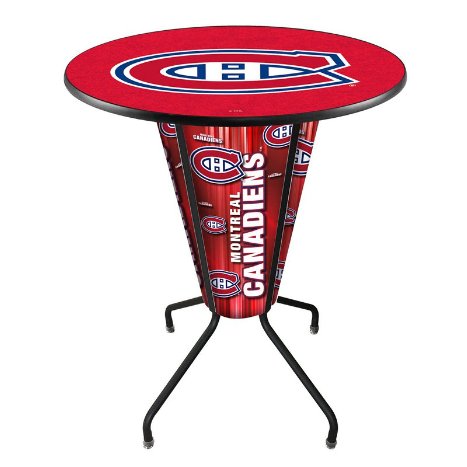 Detroit Red Wings Cue Rack in English Tudor Finish Holland Bar Stool Co