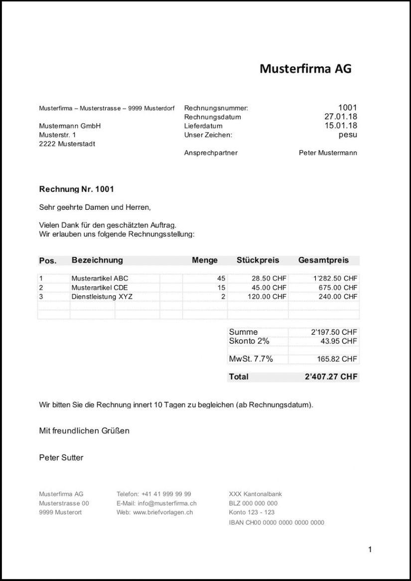 Scrollen Unsere Das Beispiel Von Rechnung Ohne Mwst Vorlage In 2020 Rechnung Vorlage Rechnungsvorlage Briefvorlage Word