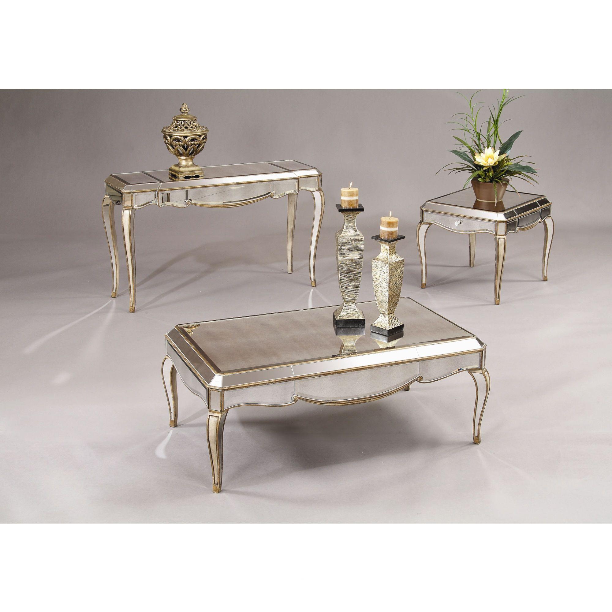 Merveilleux Bassett Mirror Collette Coffee Table