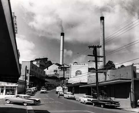 A 1960 Photo Of The Oahu Sugar Company Mill In Waipahu Hawaii