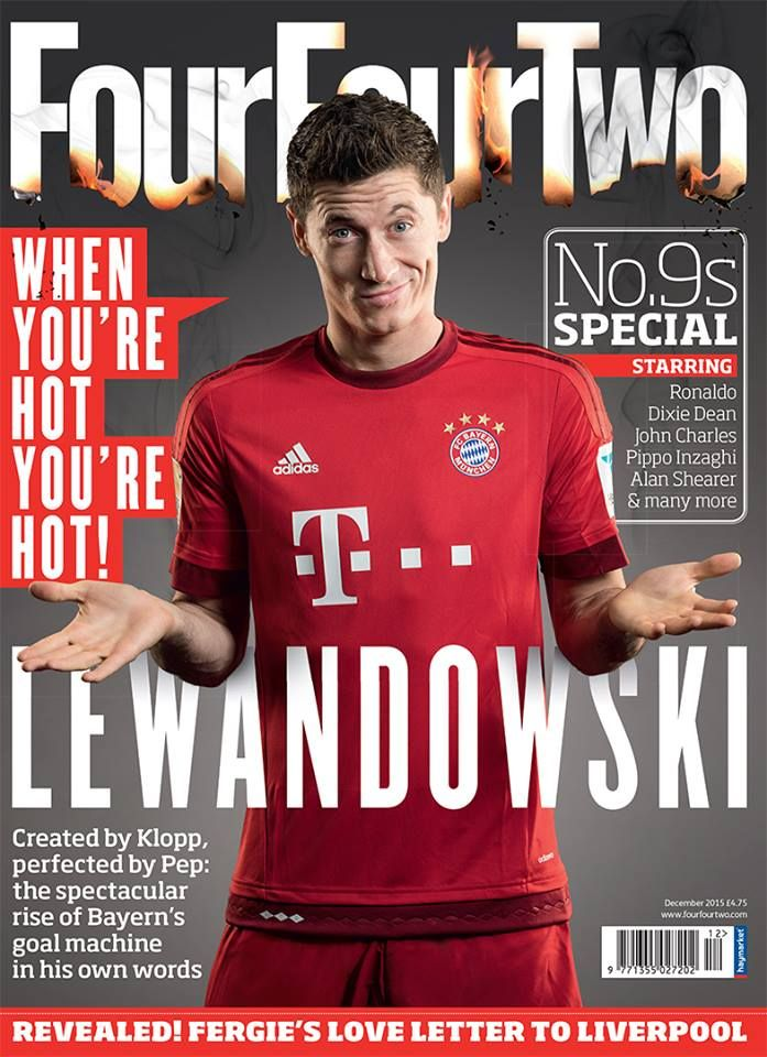 Pin by Ivan on Magazine Cover - football | Lewandowski, Robert lewandowski,  Fergie