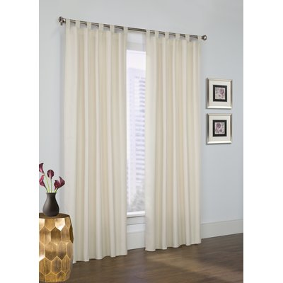 Three Posts Obannon Solid Room Darkening Thermal Tab Top Curtains