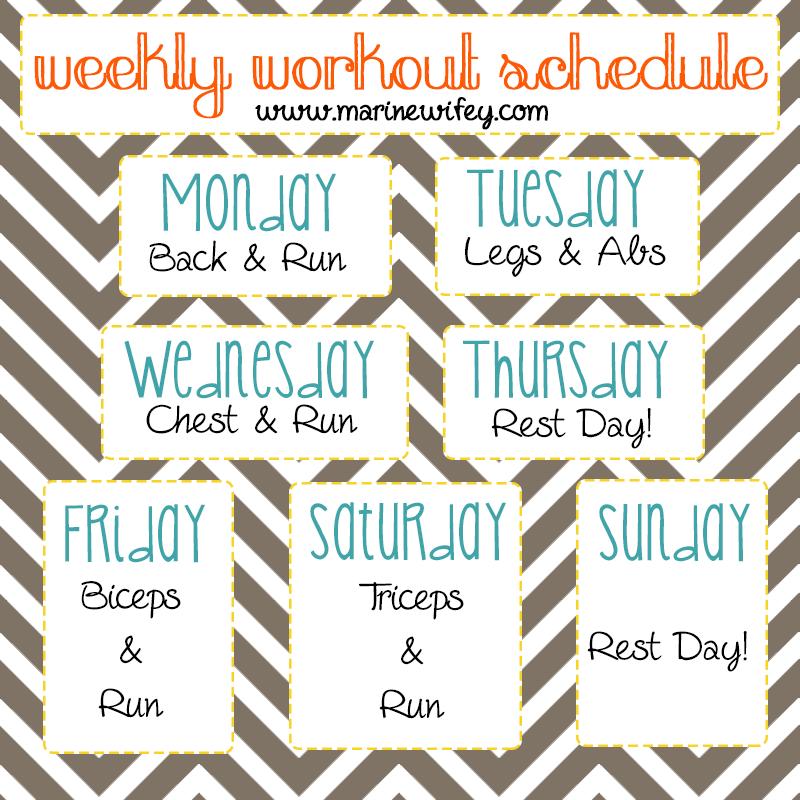 Summer LiftingWorkout Schedule how about now liftingworkout – Workout Calendar Template