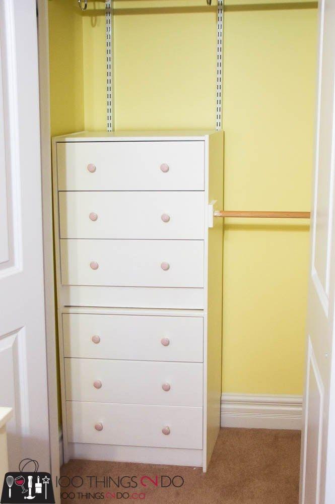 Small Closet Organization On A Budget Ikea Closet Organizer