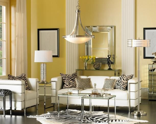 Shop By Room Room Details Lampsplus Com Glam Living Room Hollywood Glam Living Room Transitional Decor Living Room