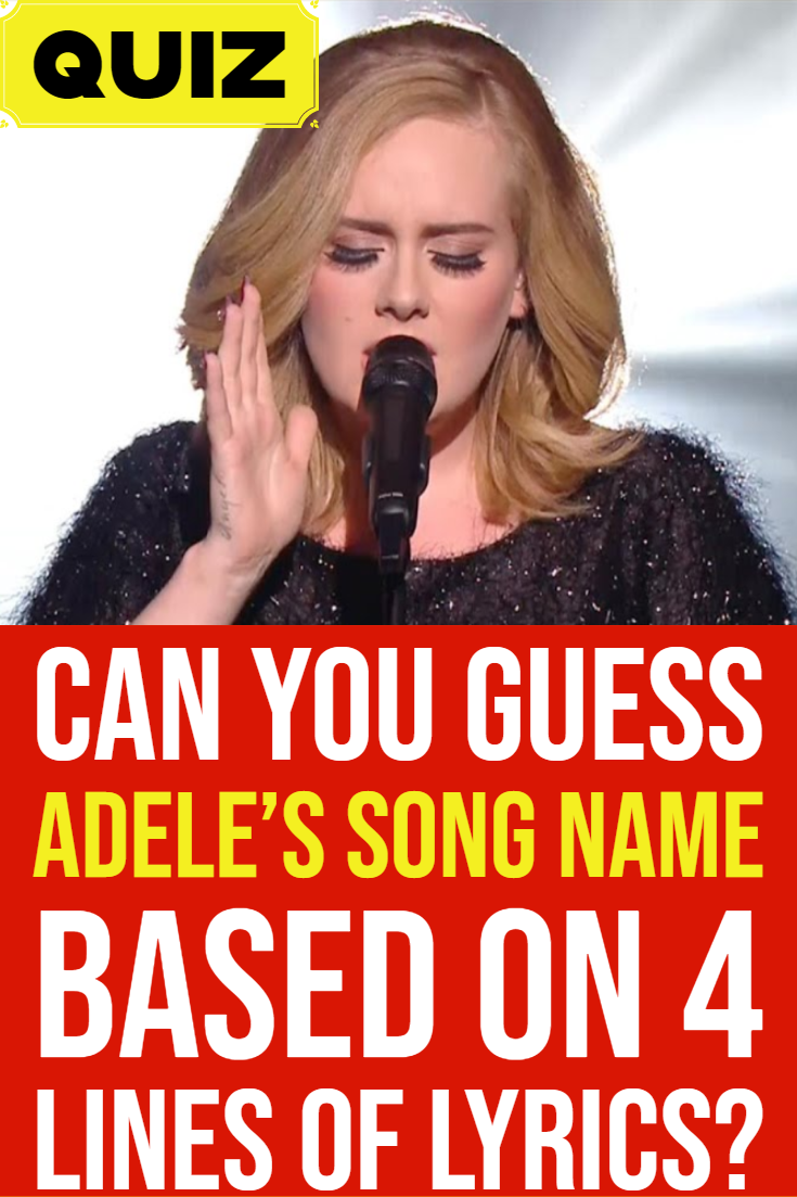 Fans Guess The Name Cardi B And Offset Will Give Their: Adele Songs Quiz: Are You The Biggest Fan?