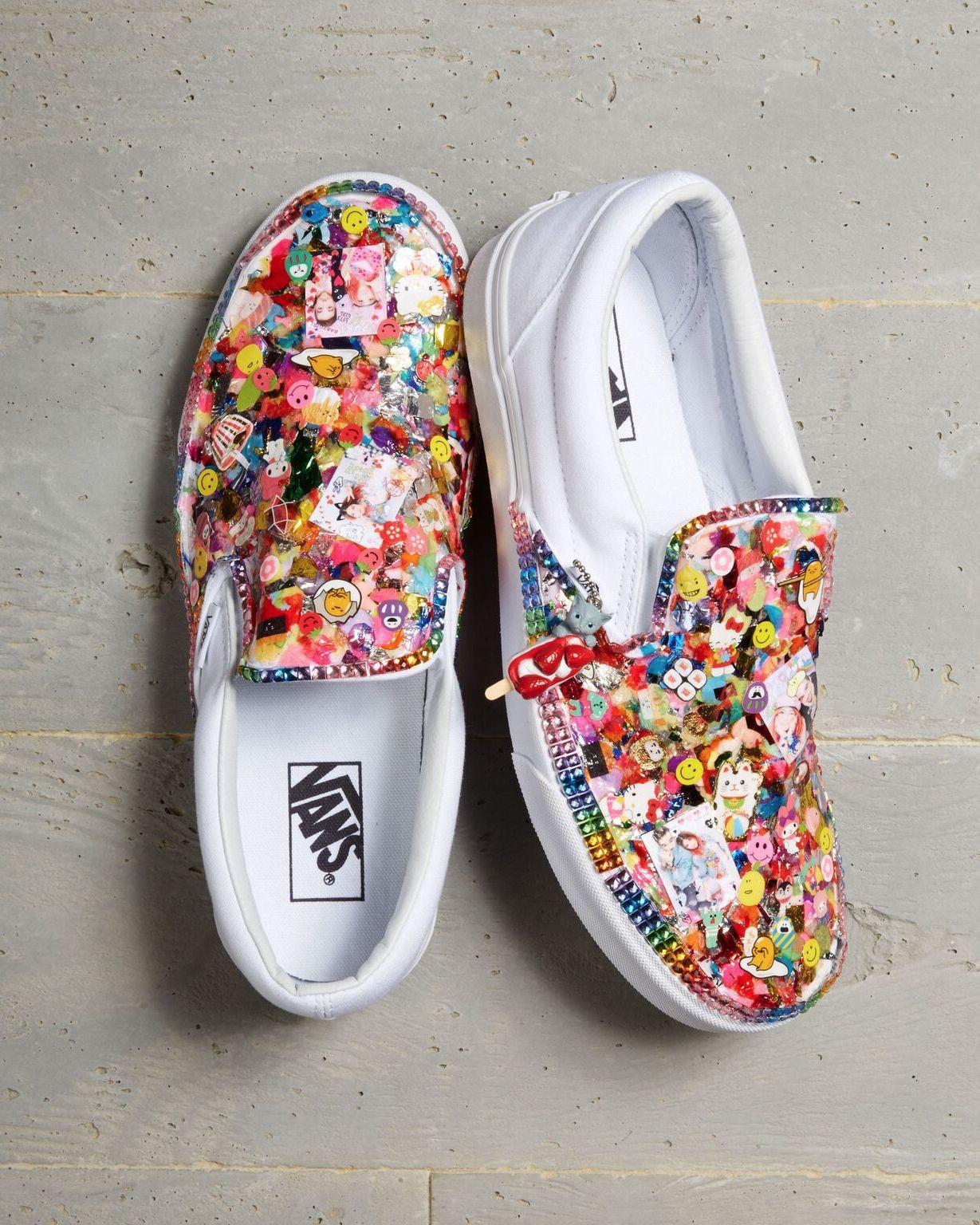 Shoes by 2018 Vans Custom Culture ambassador, Christina