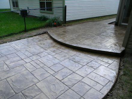 Concrete patio designs Garden Pinterest Patio, Patio design
