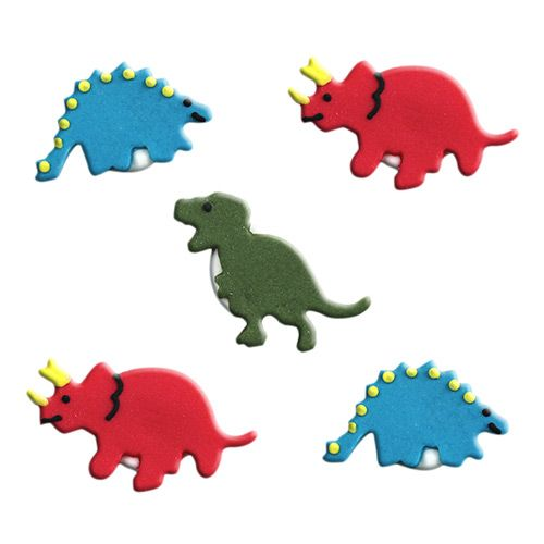 Party Ark's 'Dinosaur Sugarcraft Cake Toppers'