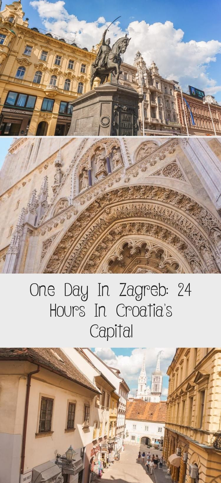 Cool Things To Do In Zagreb Croatia In One Day What To See Where To Eat And Where To Stay On Your Zagreb City Break Handy Zagr Travel Winter Travel Zagreb