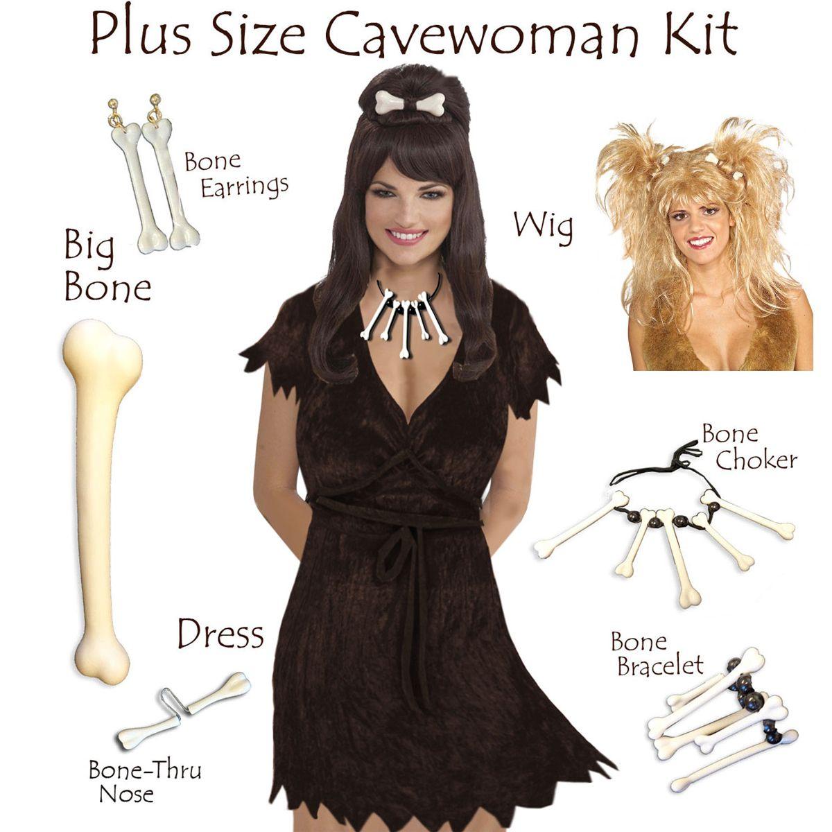 SALE! Plus Size Cave Woman Costume Plus Size & Supersize