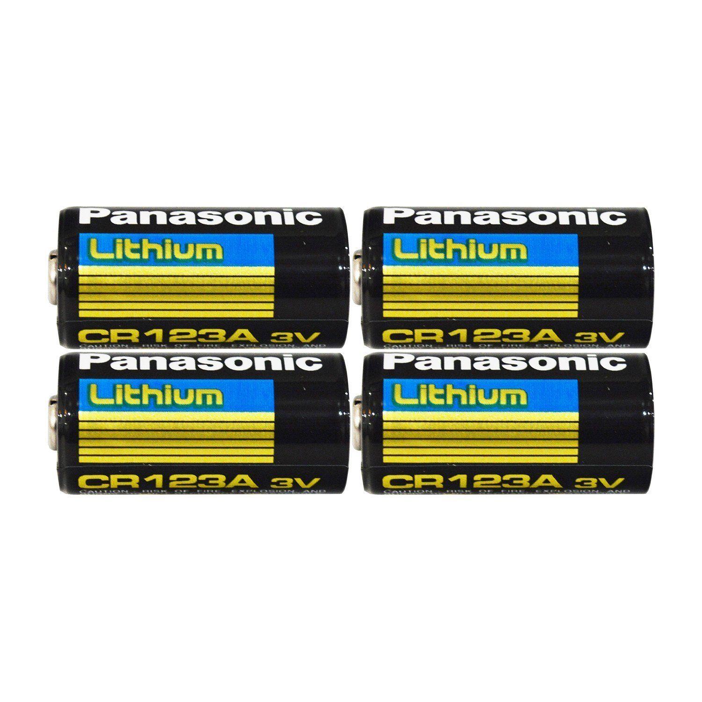 Panasonic Cr123a Lithium 3v Photo Lithium Batteries 0 67 Quot Dia X 1 36 Quot H 17 0 Mm X 34 5 Mm Black G Lithium Battery Panasonic Deep Cycle Battery