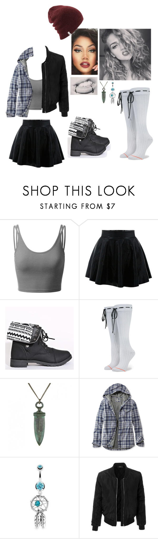 """""""Untitled #593"""" by kyranfisher18 ❤ liked on Polyvore featuring Doublju, Ornamental Things, L.L.Bean, Bling Jewelry and LE3NO"""