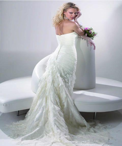 Modelos de vestidos de novia economicos