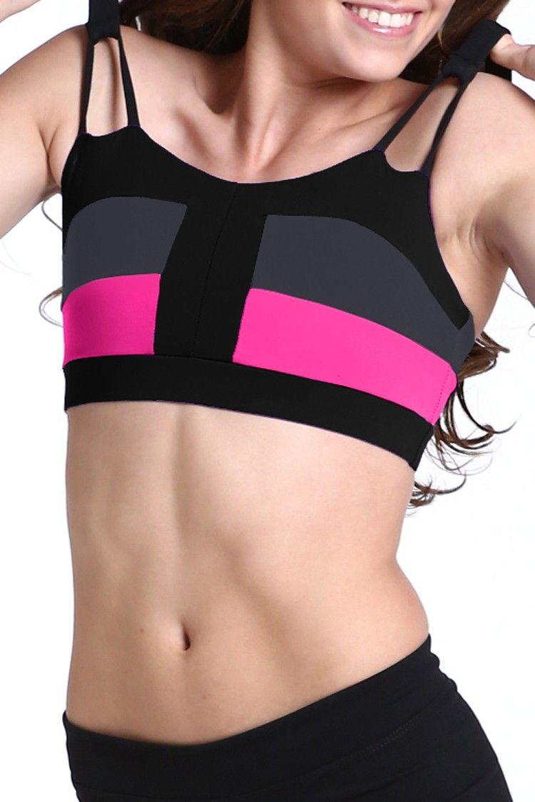 de5172ef2 Color Block Top Dance Tops for Girls JoJax Dancewear dance