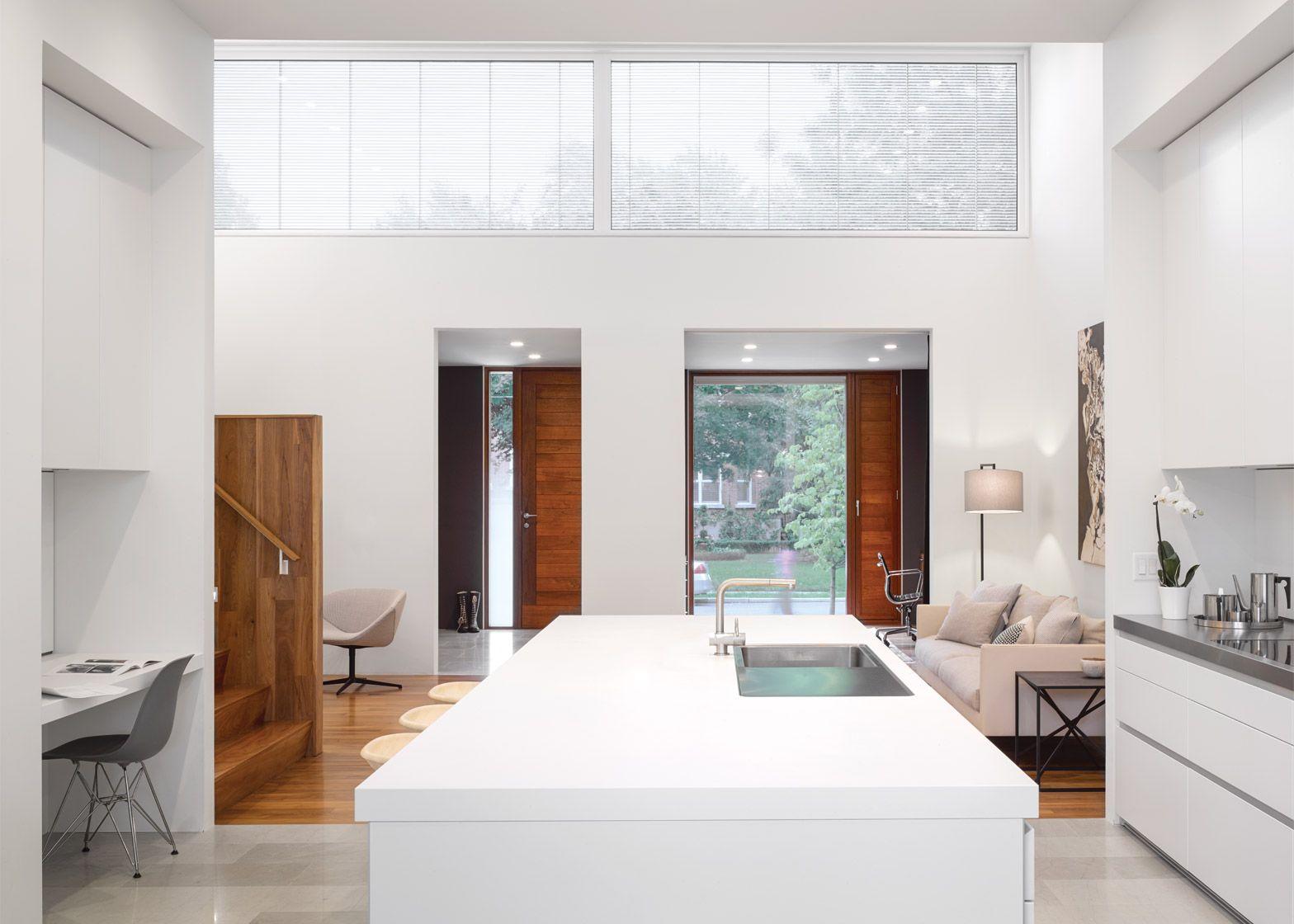 Aluminium Lamellen Hinzufugen Licht Stil Zu Toronto Home Individuelle Hauser Zeitgenossische Hauser