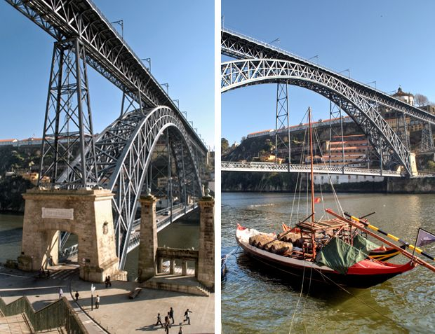 Dom Luis Bridge, Porto, Portugal