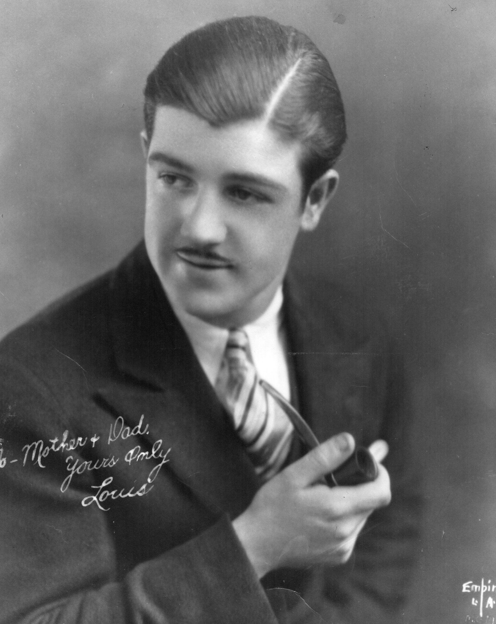 a very young lou costello taken in the late 20 s or early 30 s
