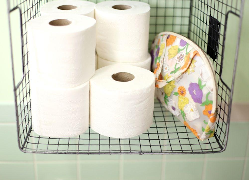 31 Ways To Fake A Clean House Toilet Paper Storage Bathroom