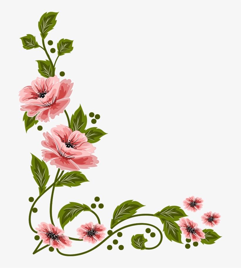 vintage flowers art flowers flower art creative png file flower transparent png in 2020 floral border design flower art flower border transparent png in 2020 floral border