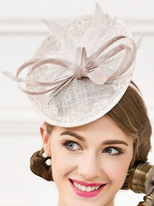 bc7f179f6ac Fascinator Bowknot Feather Wedding Tea Party Cocktails Hat  24.99 ...